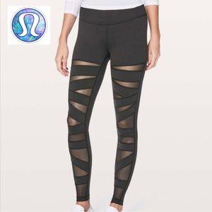 🧘🏻♀️LULULEMON Mesh Yoga Pants Leggings